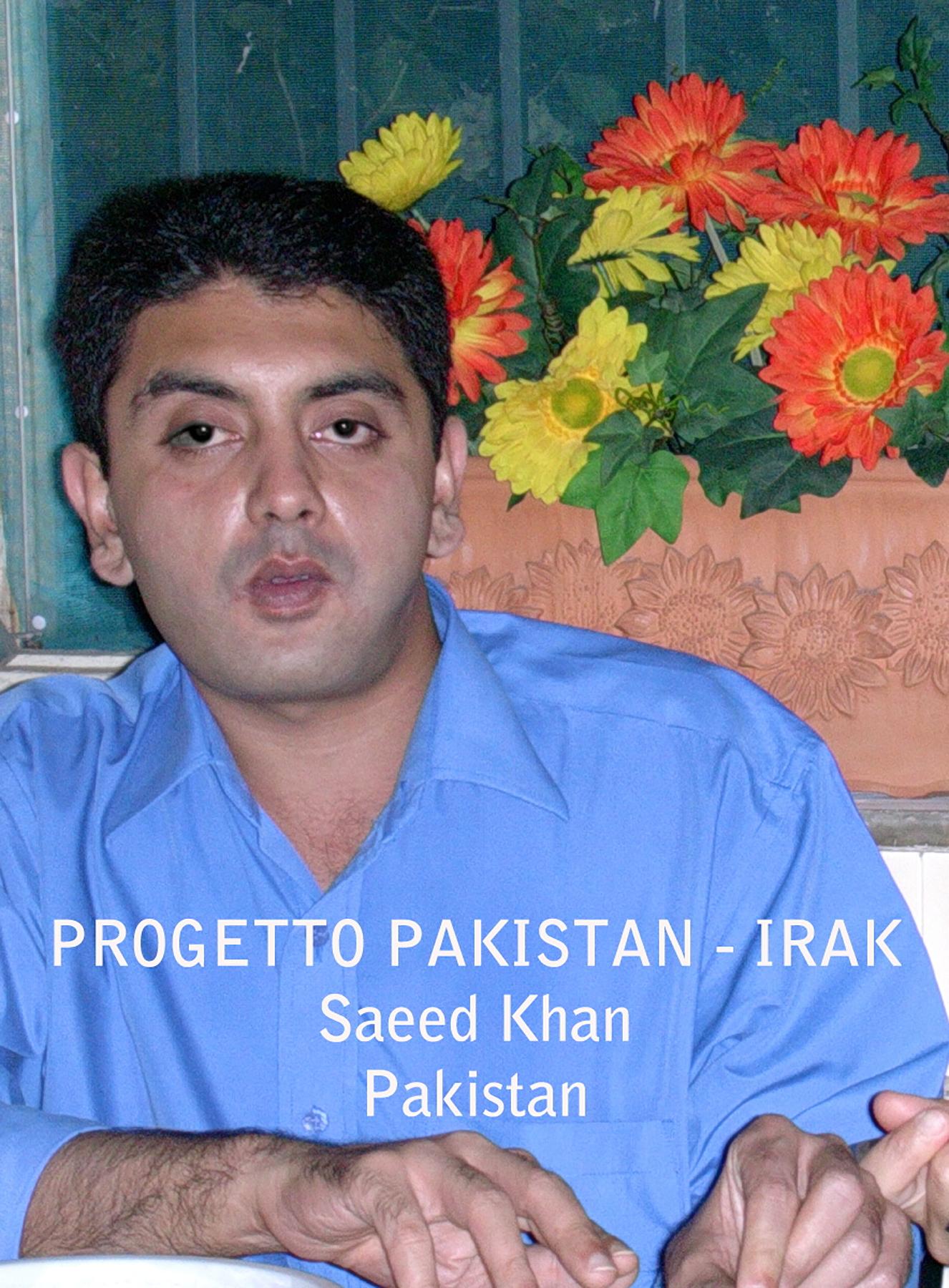 2005_Progetto_Pkiastan_Saeed
